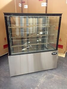 Bakery Display Case Refrigerator Pastry Deli 4 48 Cake Show Case New