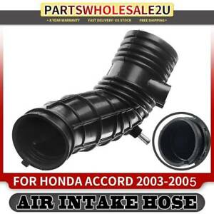 Air Intake Tube Cleaner Hose For Honda Accord 2003 2004 2005 I4 2 4l Petrol