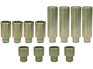 Two Post Lift 12 Piece Set Of Stackable Truck Adapters 1 3 8 Peg