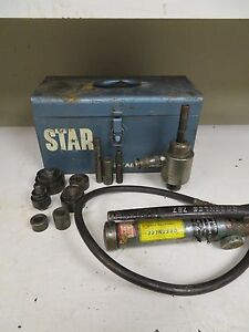 Greenlee 767 Greenlee Slug Buster Hydraulic Punch Driver Kit Mu31