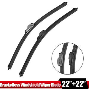 22 22 Windshield Wiper Blades J Hook Oem Quality Bracketless