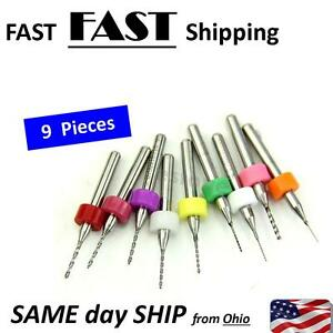 10 Pack Pcb Print Circuit Board Carbide Micro Drill Bit Set