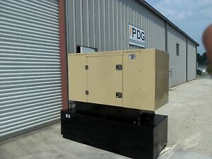 20 Kw Diesel Generator Perkins Enclosed With 150 Gallon Fuel Tank