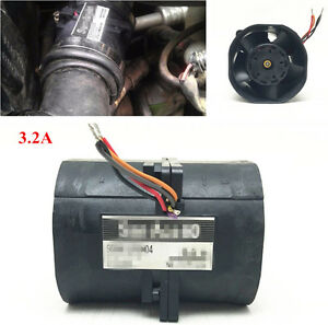 3 2a Universal Car Electric Turbine Turbo Double Fan Super Charger Boost Intake