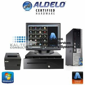 Aldelo Pos System For Bakeries_bars_restaurants Complete Hardware And Software