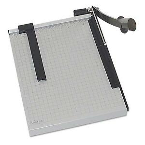 Dahle Vantage Guillotine Paper Trimmer cutter 15 Sheets 18 Cut Length