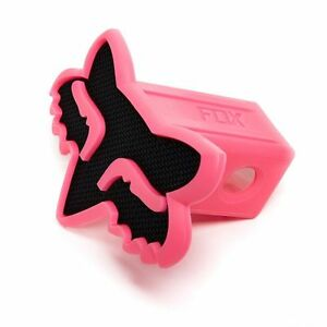 Fox Head Racing Trailer Hitch Cover 2 Truck Towing Dirtbike Black Pink Mx Mtb