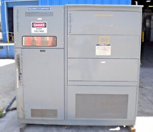 Sorgel 750 1000 Kva Transformer 4160v 480y 277 Type 3 Enclosure