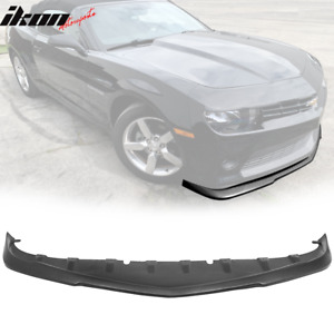 Fits 14 15 Chevy Camaro V6 Lt Rs Oe Factory Style Gfx Front Lip Splitter Valance