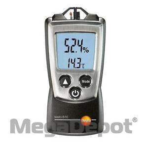 Testo 0560 0610 610 Pocket sized Air Humidity Measuring Instrument