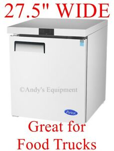 2 Feet 4 Inches Wide Under Counter Store Restaurant Commercial Nsf Refrigerator