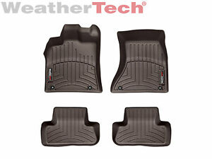 Weathertech Floor Mats Floorliner For Audi Q5 Sq5 1st 2nd Row Cocoa