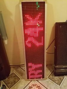 Programmable Led Sign 52