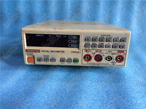 1pc Used Advantest Tr6846 Digital Multimeter