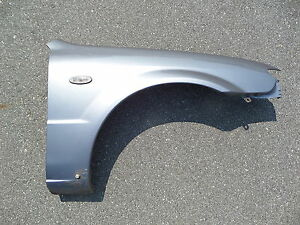 02 03 Mazdaspeed Protege Sedan Oem Right Fender Titanium Gray 25g Mazda Turbo
