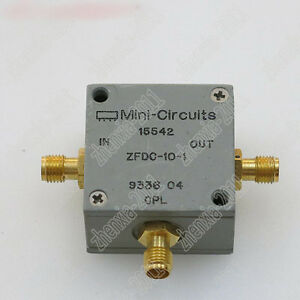 1pc Used Mini circuits Zfdc 10 1 1 500mhz Rf Sma Rf Coaxial Directional Coupler