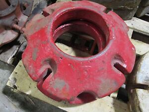 Minneapolis Moline Bf Avery A Gg General Tractor Rear Wheel Weights