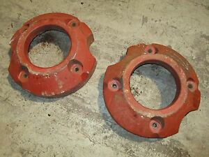 Farmall Ih Super A 100 130 140 Tractor Rear Wheel Weights