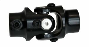 Black New Manual Mustang Ii Steering U Joint 3 4 Dd X 9 16 26 Spline Coupler