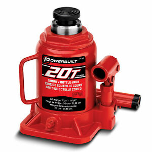 Powerbuilt 20 Ton Shorty Bottle Jack 647504
