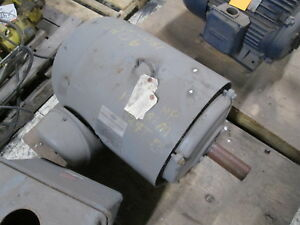 Lincoln Ac Motor 40hp 1800rpm Fr 324t 230 460v 98 49a Used