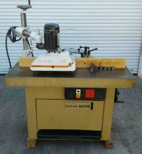1988 Scmi T120 k Shaper woodworking Machinery