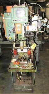 Mdl 2223 Clausing Drill Press Modified Metal Automatic