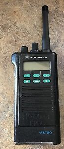 Motorola Astro Saber M2 Uhfh 470 520 Mhz With Antenna And Free Programming