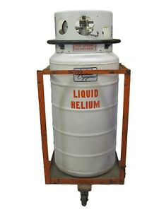 Mve Cryogenics Liquid Helium Cryogenics 154 Liter Cryo Tank With Cart