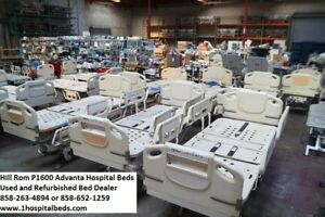 10 Hill Rom Advanta P1600 Hospital Beds Full Electric Adjustable Package Deal