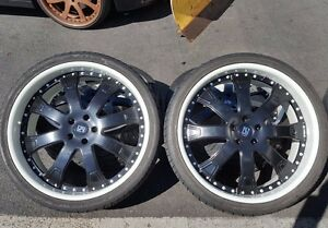 Reconditioned 24 Giovanna 3 Piece Wheels Toyo Tires Range Rover Sport And Hse