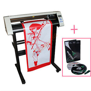 24 Vinyl Sign Sticker Cutter Plotter With Contour Cutting Function