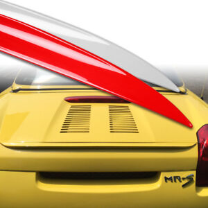 Custom Painted Trunk Lip Spoiler S For Honda Civic Del Sol Eg1 93 97