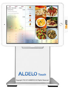 Pos x Isappos 9b Restaurant Stand Ipad Air 2 pro 9 7 White For Aldelo Touch