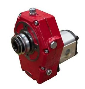 Flowfit Hydraulic Pto Gearbox And Group 3 Pump Assembly Cast Iron