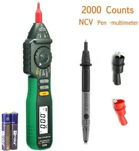 Digital Multimeter Pen type Multimeter W Ncv Auto Ranging Ac Dc Voltage Tester