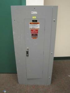 Cutler hammer Breaker Panel Box Panel Board Indoor Electrical Main 48 space 100a