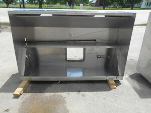 72 6ft Commercial Vent Hood Restaurant Exhaust Hood System 2480