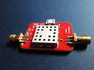 Low Noise Amplifier nf 0 5db gain 40db 0 01 2ghz Lna Operates To 4ghz