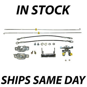New Tailgate Hardware Repair Kit Set For 1987 1996 Ford F150 F250 F350 87 96