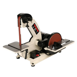 Brand New Jet J 4002 1 inch By 42 inch Bench Belt And Disc Sander