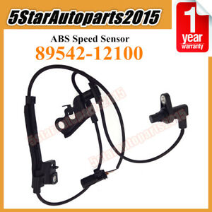 Abs Wheel Speed Sensor 89542 12100 Front Right For Toyota Corolla 1 8l 2009 2013