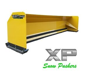 14 Jrb 416 Snow Pusher Box For Backhoe Loader Express Snow Pusher Local Pick Up