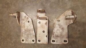 1955 Cadillac Power Seat Brackets For Fleetwood Six Way Front Seat