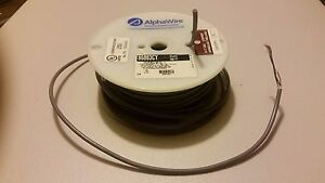 100 Alpha Wire 86003cy 3c 28awg Shielded Foiled Tinned Communications Cable