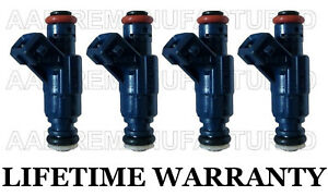 4x Genuine Bosch Fuel Injectors For Audi A4 A4 Quattro Vw Passat 1 8l Turbo