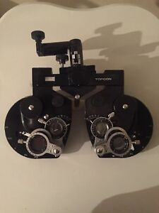 Topcon Vt d5 Phoropter Vision Tester Good Condition Parts Only