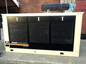 50kw Kohler Power System Fast Response Generator And Transfer Switch