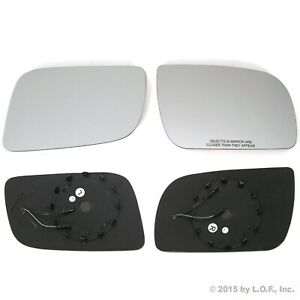 Chevy Gm Pickup Truck Side Mirror Replacement Glass Both Driver Passenger Signal
