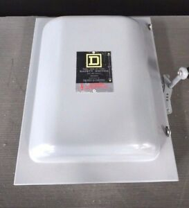 Square D 82353 Disconnect Switch Double Throw Safety Switch W Warranty